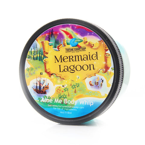 MERMAID LAGOON Aloe Me Body Whip - Fortune Cookie Soap