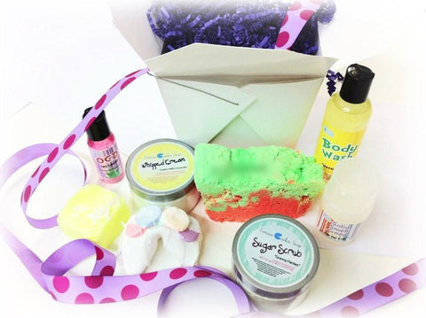 Mother's Day Create your own Gift Set Sorry about the lamp! - Fortune Cookie Soap