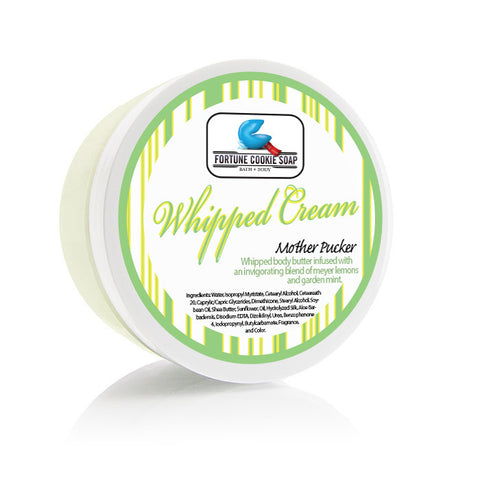 Mother Pucker Body Butter - Fortune Cookie Soap