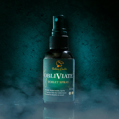 OBLIVIATE Toilet Spray