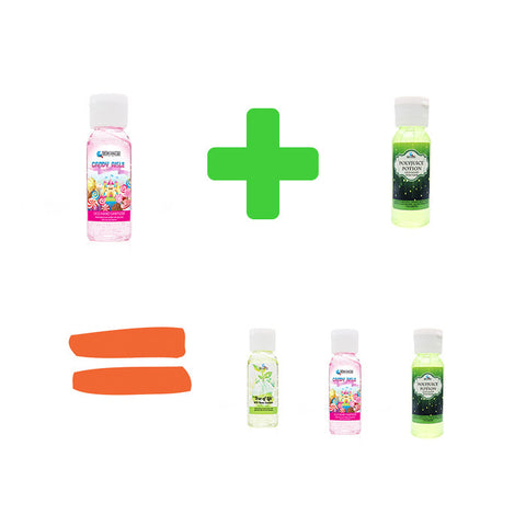 BUY 2 GET 1 FREE 1oz. OCD Hand Sanitizer - Fortune Cookie Soap