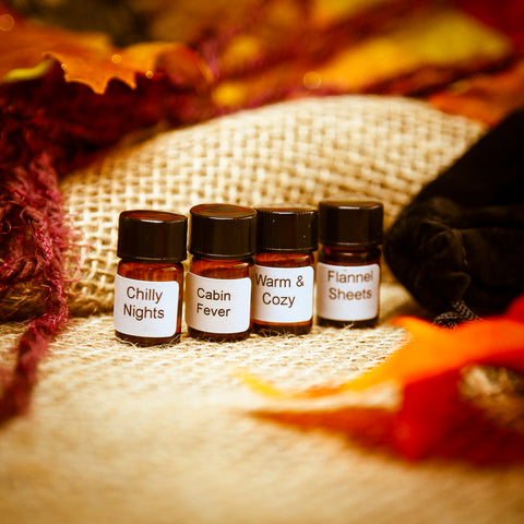 SWEATER WEATHER Mini Perfume Oil Collection
