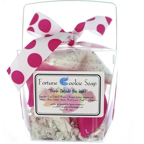 Jet Setter Bath Gift Set - Fortune Cookie Soap - 1