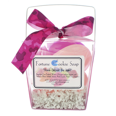 Pink Power Bath Gift Set - Fortune Cookie Soap - 1