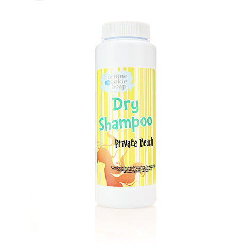 Private Beach Dry Shampoo - Fortune Cookie Soap