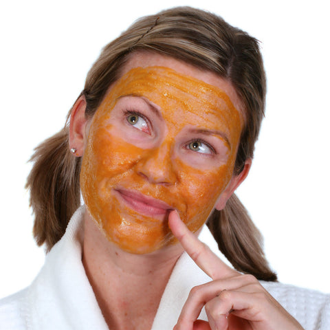 Pumpkin Enzyme Dry Clay Mask - Fortune Cookie Soap - 1