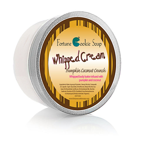 Cram Your Face in My Sweet Pumpkin Pie Body Butter 5oz - Fortune Cookie Soap