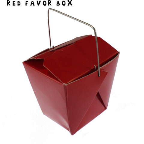 RED Mini Take-out Box - Fortune Cookie Soap