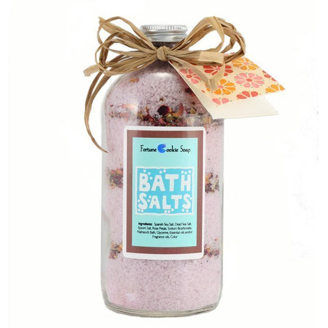 Burlesque Bath Salt Gift - Fortune Cookie Soap