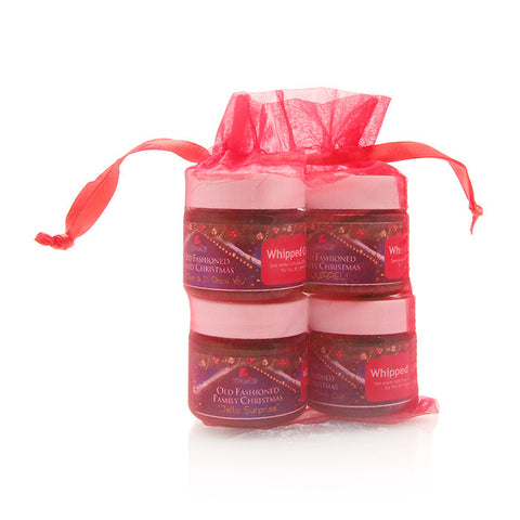 Christmas Whipped Cream Sampler Gift Set - Fortune Cookie Soap