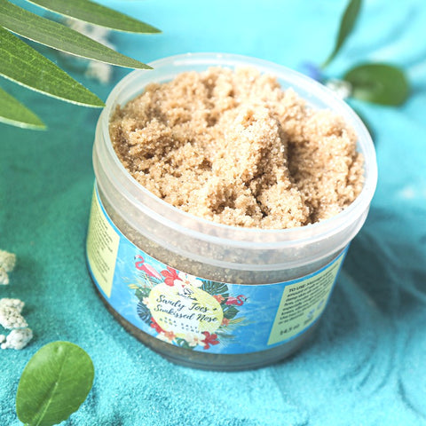 SANDY TOES + SUNKISSED NOSE Sea Salt Body Scrub