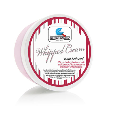 Santa Delivered Whipped Cream - Fortune Cookie Soap