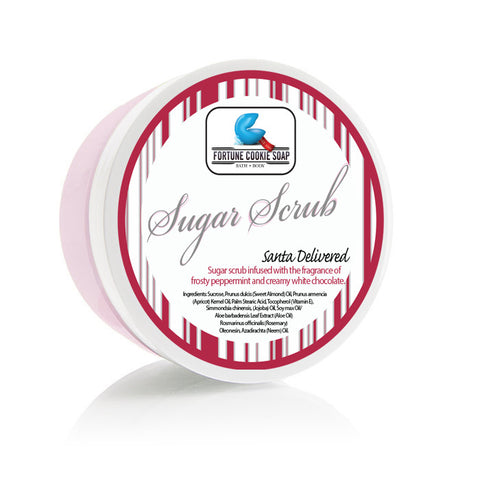 Santa Delivered Sugar Scrub - Fortune Cookie Soap