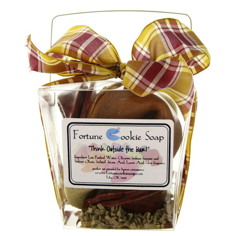 Itchy Scarf Bath Gift Set - Fortune Cookie Soap - 1