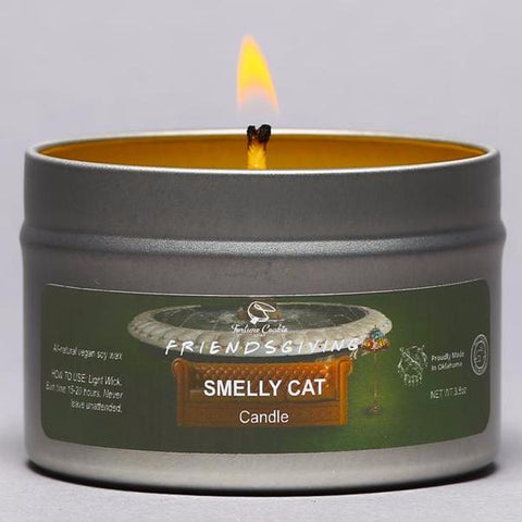 SMELLY CAT Hand Poured Soy Candle