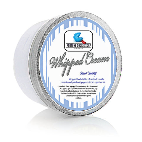 Snow Bunny Body Butter 5oz. - Fortune Cookie Soap