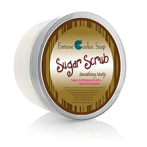 Something Nutty Sugar Scrub 5oz. - Fortune Cookie Soap