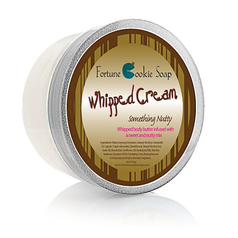 Something Nutty Body Butter 5oz. - Fortune Cookie Soap