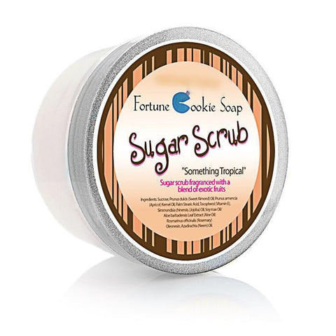 Something Tropical Sugar Scrub - Fortune Cookie Soap