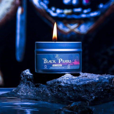 BLACK PEARL Hand Poured Soy Candle
