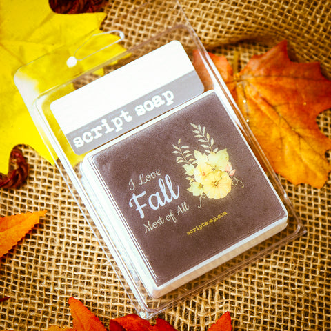 I LOVE FALL MOST OF ALL Script Soap