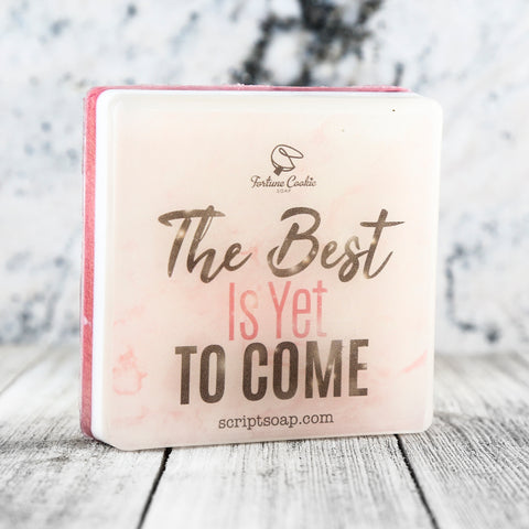 THE BEST IS YET TO COME Script Soap