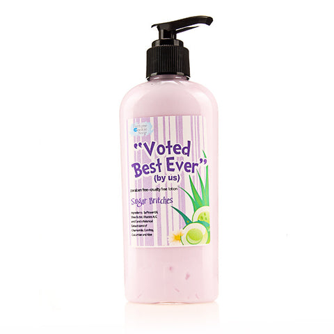 Sugar Britches Voted best! (by us) Body Lotion - Fortune Cookie Soap