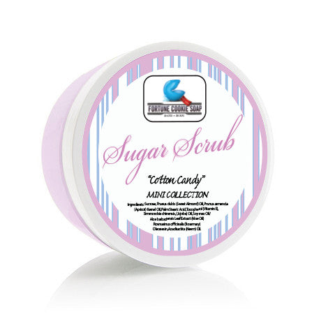 COTTON CANDY Sugar Scrub - Fortune Cookie Soap