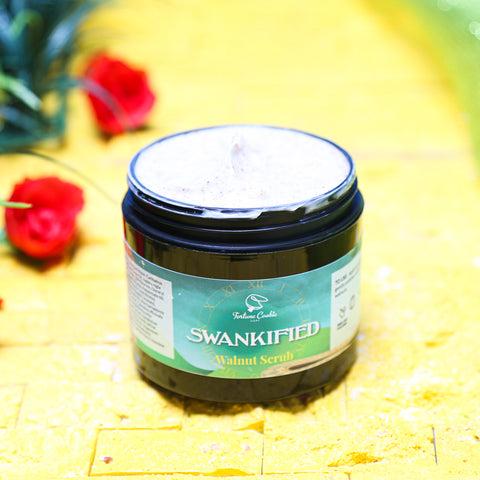 SWANKIFIED Walnut Body Scrub