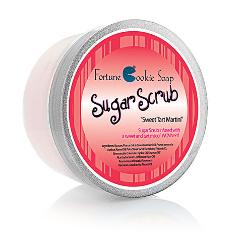 Sweet Tart Martini Sugar Scrub - Fortune Cookie Soap