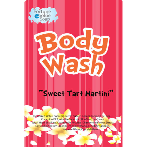 Sweet Tart Martini Body Wash - Fortune Cookie Soap