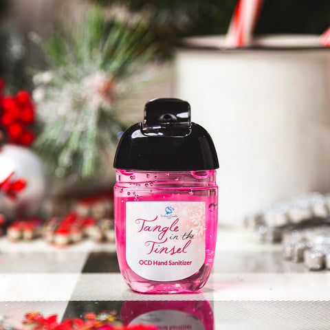 TANGLE IN THE TINSEL OCD Hand Sanitizer