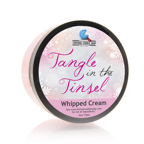 TANGLE IN THE TINSEL Body Butter - Fortune Cookie Soap - 1
