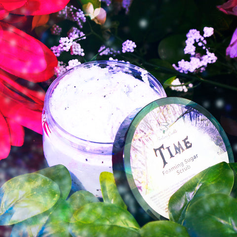 TIME Foaming Sugar Scrub
