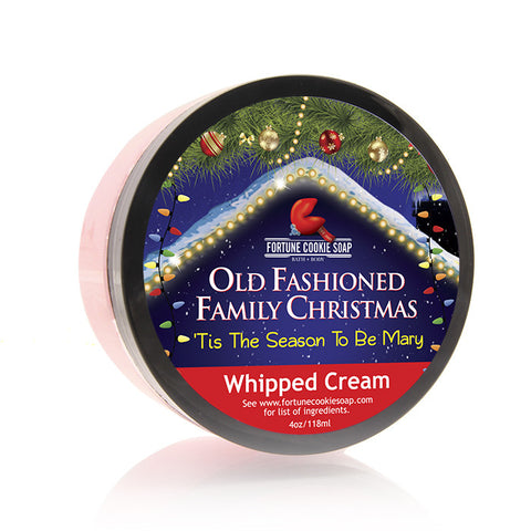 'Tis the Season To Be Mary Whipped Cream - Fortune Cookie Soap - 2
