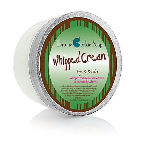 Figs & Berries Body Butter 5oz. - Fortune Cookie Soap