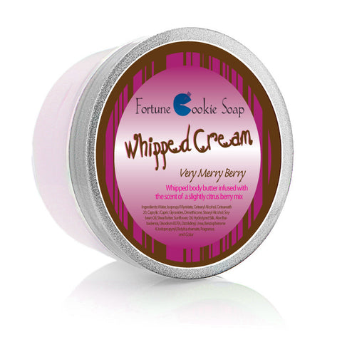 Very Merry Berry Body Butter 5.5oz. - Fortune Cookie Soap