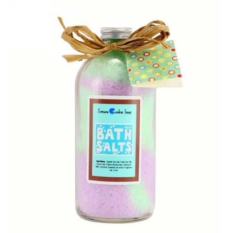 Violet Hill Bath Salt Gift - Fortune Cookie Soap