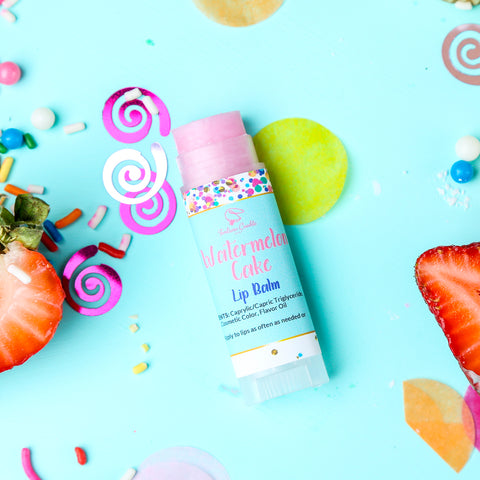 WATERMELON CAKE Lip Balm