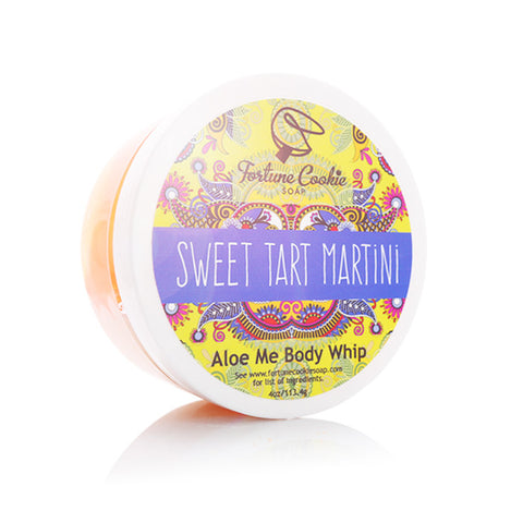SWEET TART MARTINI Aloe Me Body Whip - Fortune Cookie Soap
