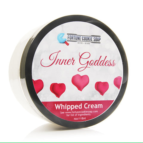 """Inner Goddess"" Whipped Cream - Fortune Cookie Soap"