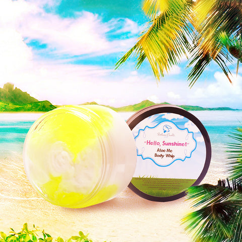 HELLO, SUNSHINE! Aloe Me Body Whip - Fortune Cookie Soap