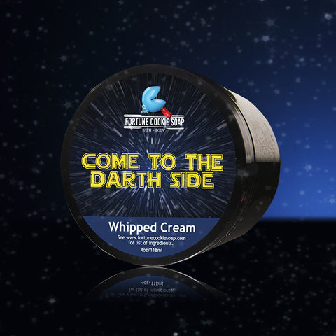COME TO THE DARTH SIDE...Whipped Cream - Fortune Cookie Soap