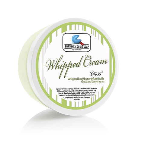 GRASS Body Butter (5oz.) - Fortune Cookie Soap