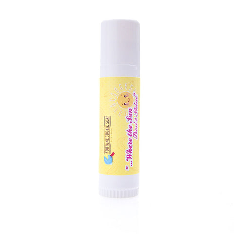 ...Where The Sun Don't Shine Solid Sunscreen Stick SPF - Fortune Cookie Soap