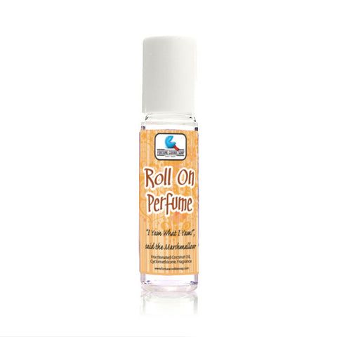I Yam What I Yam!, said the Marshmallow Roll On Perfume - Fortune Cookie Soap