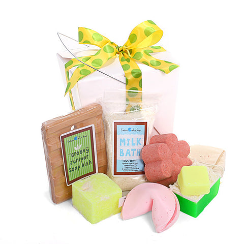 Life's a Beach! Gift Set - Fortune Cookie Soap