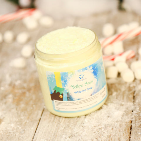 YELLOW SNOW Whipped Soap