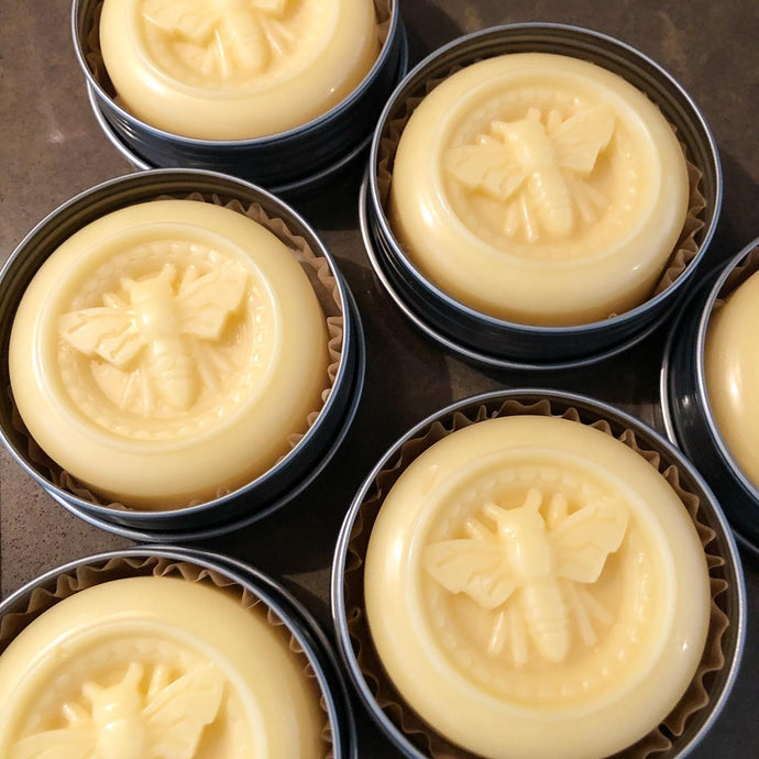 Hand Poured Solid Lotion Bar