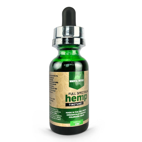 cbd dosage for pain - 1500mg Tincture